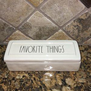 Rae Dunn FAVORITE THINGS Box